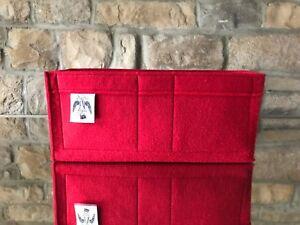 SPEEDY 35 INSERT LINER BAG ORGANISER RIOJA RED BEIGE TREACLE By ... 1f187551c73a2