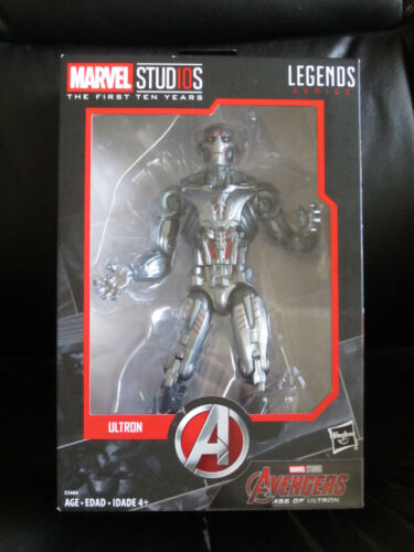 "Marvel Legends 6/"" MCU Studios the First Ten Years Ultron Avengers Villain Sealed"