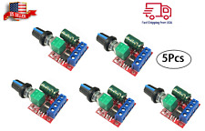 5pcs Mini Dc Motor Pwm Speed Controller 3v 35v Switch 5a Led Dimmer