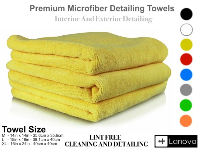 Basics Thick Microfiber Cleaning Cloths 3 Pack