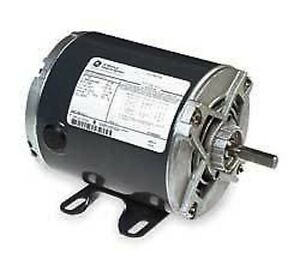 Magnatek 1 hp motor dual shaft 230 460 volt ebay for Double ended shaft electric motor