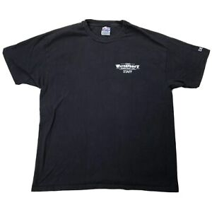 Vtg-The-Waterfront-Somers-Point-NJ-Deck-Staff-Shirt-XL-Black-Short-Sleeve-Tee