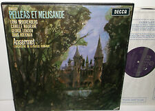 SET 277/9 Debussy Pelleas Et Melisande Spoorenberg L'OSR Ansermet WBG 3LP BoxSet