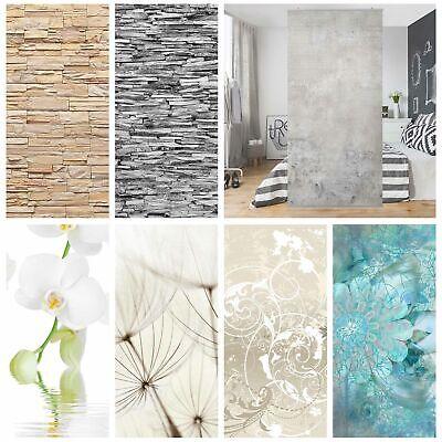 Raumteiler Vorhang Blumen Stein Wand Beton Optik Sichtschutz Spanische Trennwand