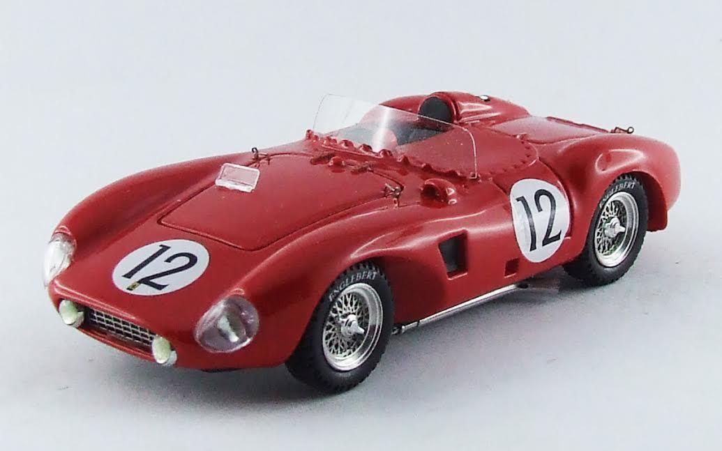 Ferrari 625 Le Mans 1956  43 Trintignant   Gendebien Model 0276 ART-MODEL