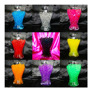Image is loading 1-PACK-AQUA-WATER-CRYSTALS-FOR-FISH-BOWL- & 1 PACK AQUA WATER CRYSTALS FOR FISH BOWL WEDDING TABLE DECORATION ...