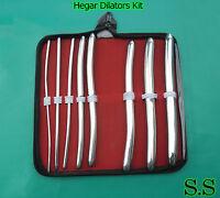 2 Hegar Uterine Dilators Set Of 8 Pcs