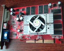 AGP card NVIDIA GeForce FX5500 FX 5500 BIOS N34B 256M DVI VGA TV-out