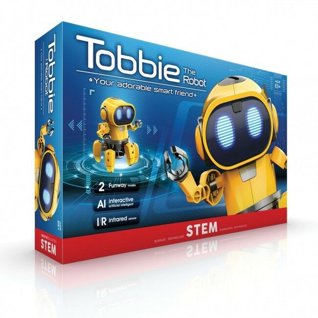 Tobbie The 6 Legged Robot Buildable STEM Science Experiment Experiment Experiment Kit 7fd35a