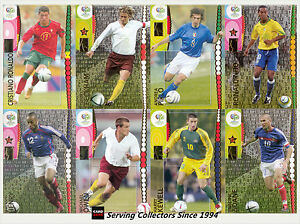 Panini 2006 Germany Official World Cup Soccer Trading Card Full Set 205 Rare Ebay