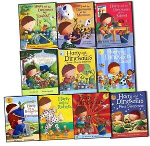 Harry-and-The-Bucketful-Of-Dinosaurs-Collection10-Book-Set-by-Ian-Whybrow