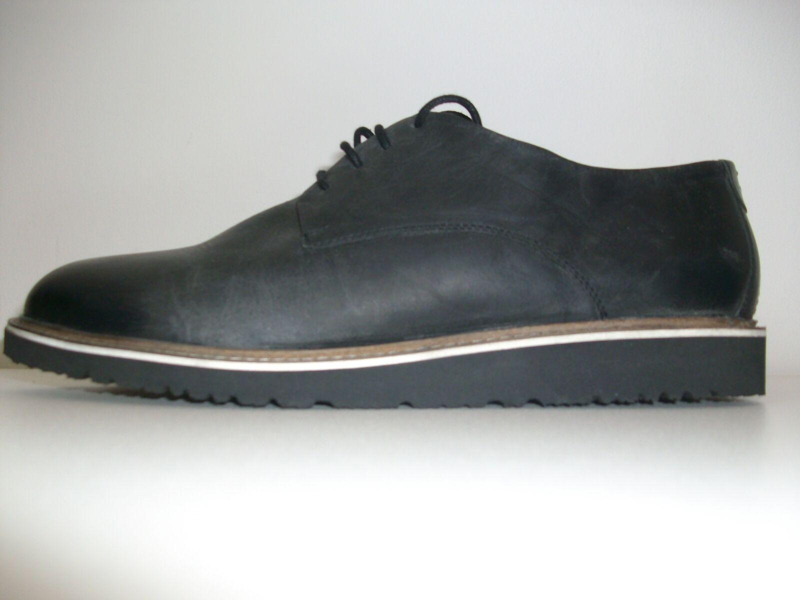 Prezzo consigliato NERO-GRIGIO £FRANK WRIGHT 85 NUOVO NERO-GRIGIO consigliato scarpe di pelle 9 43 MATT Schiuma Suola TAG 1fb104