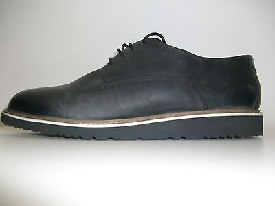 Bambooa Phoenix Black Leather Mens Designer Casual Shoes Trainers New RRP £85