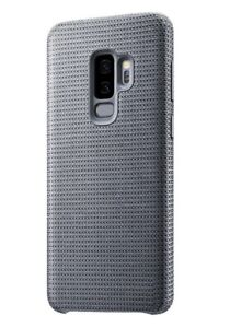 info for 6116b bdcb8 Details about Genuine Samsung Galaxy S9+ PLUS Hyperknit Fabric Case Cover -  Grey