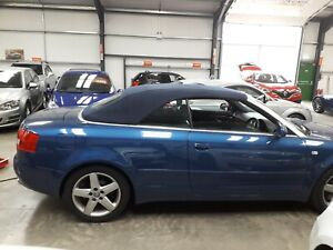 Audi A4 Convertible Hood Fitted At Your Home Work Only 875 Ebay