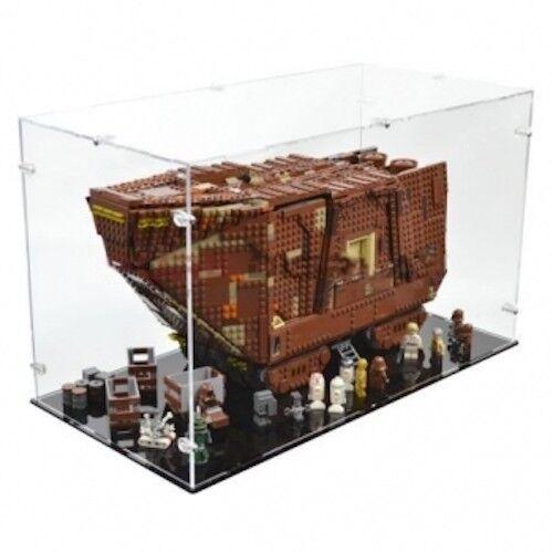Acrilico vetrina per LEGO 75059 Sandcrawler Display Case-NUOVO