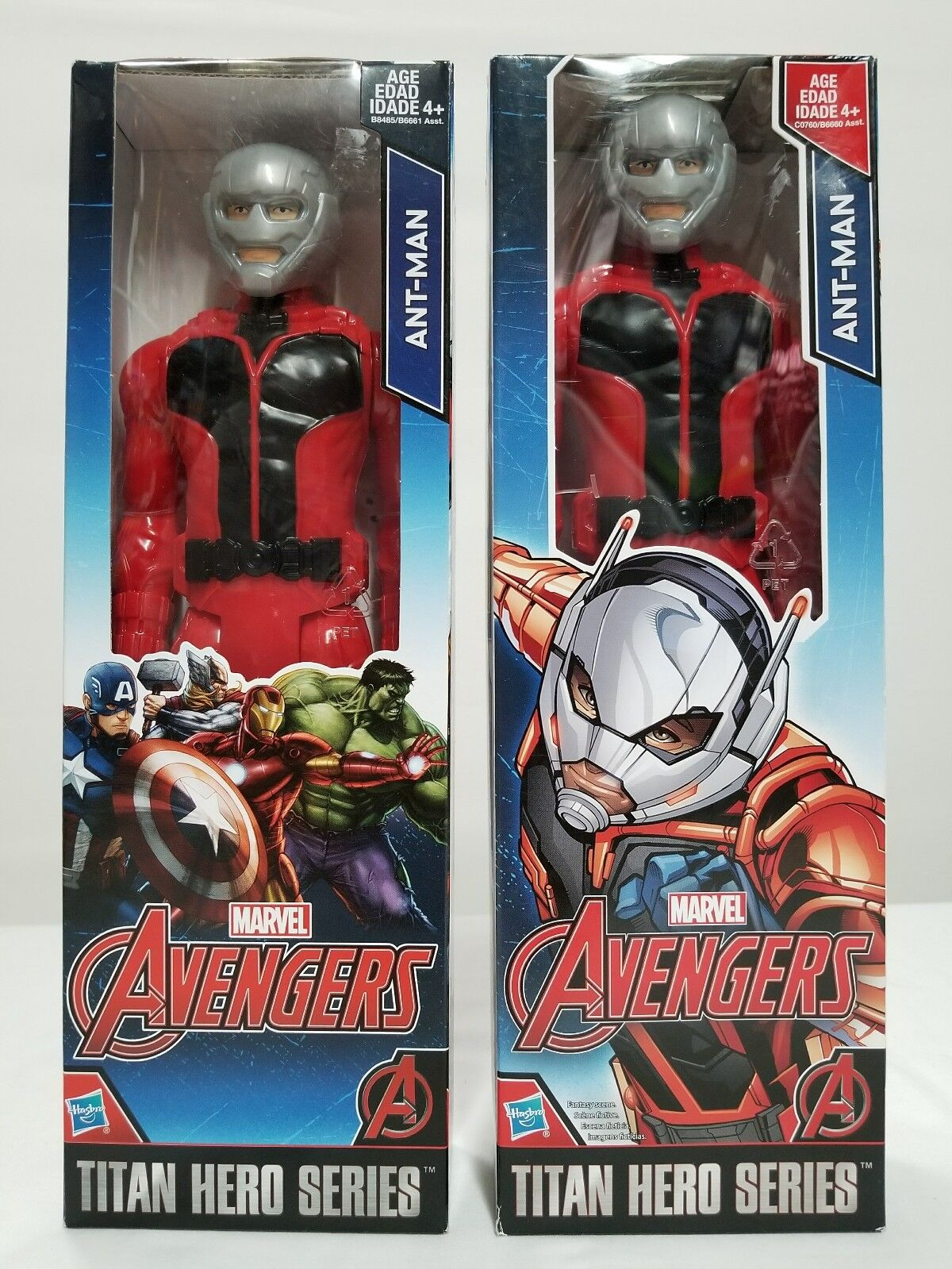 2 ANT MAN 2015 2016 MARVEL AVENGERS TITAN HERO SERIES 12  ACTION FIGURES NEW