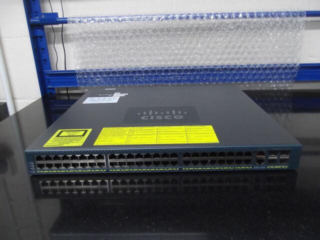 WS-C4948-S Catalyseur 4948 48 10/100/1000 Interrupteur +4 SFP Ports