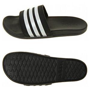 Details about Adidas Adilette Cloudfoam Plus Slides Sandals Slipper Black AP9971