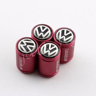 Car Vehicle Wheel Tire Air Cap Valve Dust Cap FOR VW Volkswagen MK6 MK7 Scirocco