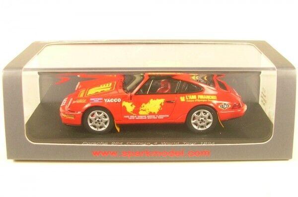 Porsche 964 Carrera 4 World Tour 1994 (Jean-Marc Liautaud)