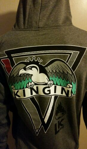 Last Kings H God Gray Hoodie Tyga Hot New Street 100/% Authentic NWT