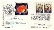 ÖSTERREICH - 18. WEIHNACHTSBALLONPOST 1978 ab CHRISTKINDL nach Bad MUSKAU