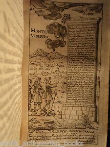 1697-Voyages-Naples-Italy-Napoli-48-PLATES-VESUVIUS-POMPEII-Volcano-Architecture