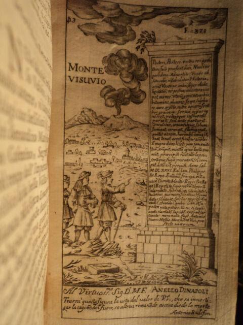 1697 Voyages Naples Italy Napoli 48 PLATES VESUVIUS POMPEII Volcano Architecture