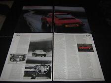 Porsche 911, 356, VW Golf GTi with 3.3 Porsche Turbo engine, Pioneer Radio Ad