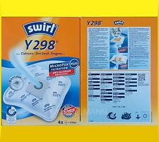 4 Swirl Y298 Micropor Y 198 AirSpace Staubbeutel Y 298 Y198