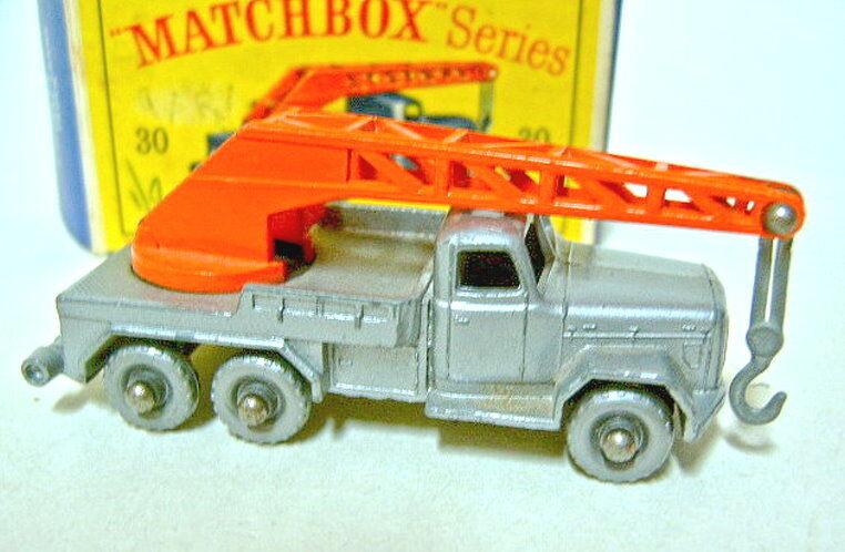 Matchbox RW 30B Magirus Magirus Magirus Crane silver, silverne Räder in  D  Box 51e765