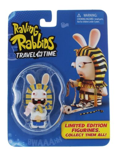"TOY-0498-1 Raving Rabbids Travel in Time 2.5/"" PHAROAH Figure Brand New /& Sealed"