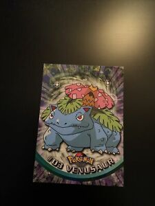 1999 Topps Chrome Pokemon #03 Venusaur TV Animation Edition Series 1