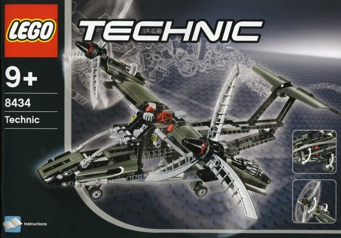 """Lego Technic modelllllerler Airplan flygagagplan new seled """