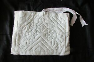 Pretty-Antique-French-Cushioned-Handmade-Eau-de-Nil-Sewing-Bag-c1930s