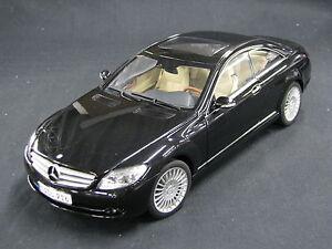 AutoArt-Mercedes-Benz-CL-Class-1-18-Obsidian-Black-JS-DV