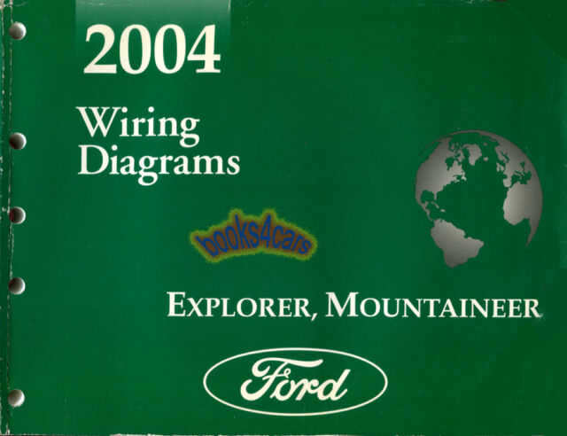 Shop Manual Electrical Wiring Diagrams Ford Book Explorer