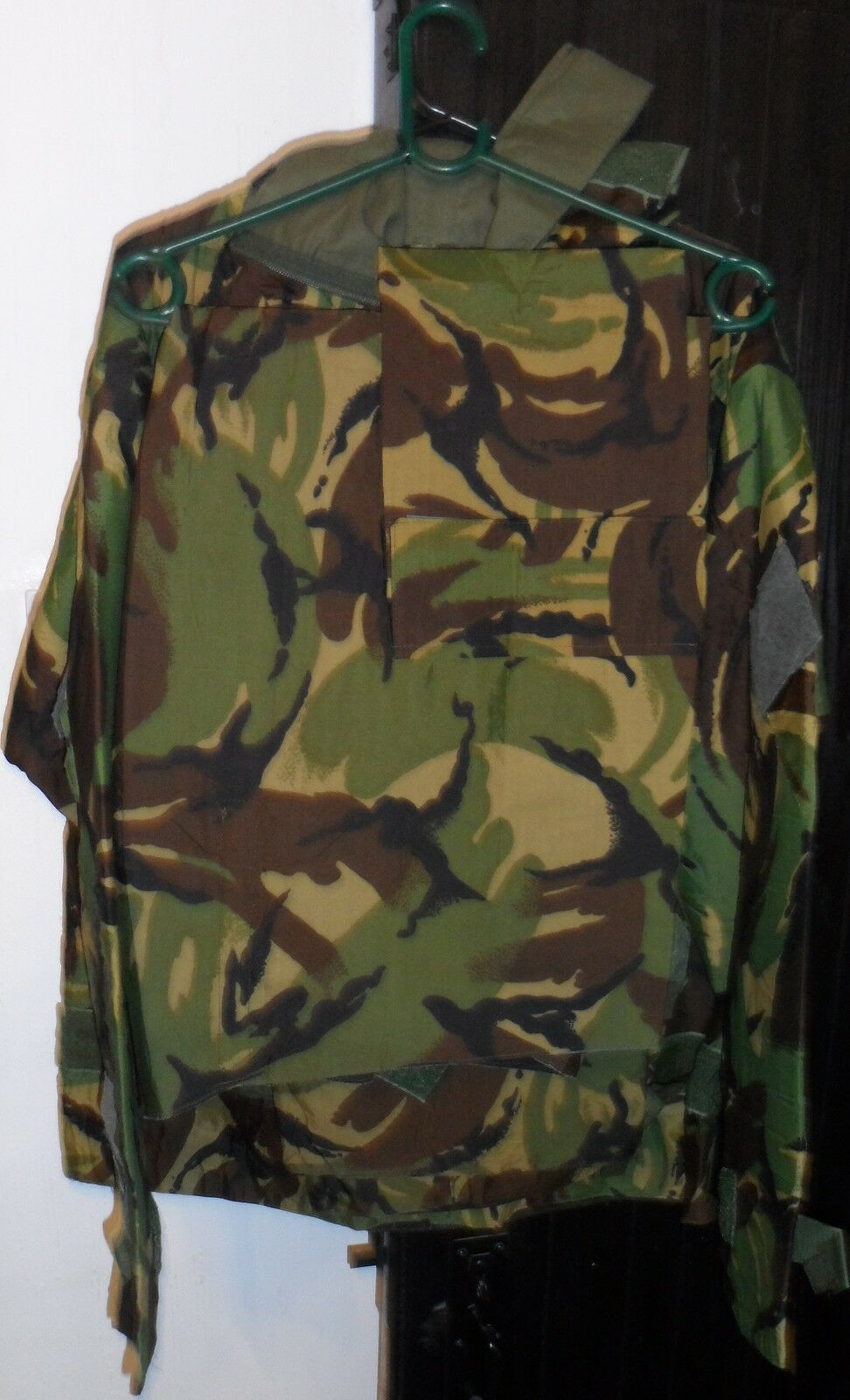 Cotton Fabric Camouflage Suit NATO Issue for Outdoor Sports L to XL