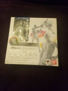 Bandai S.h. Figuarts Body Kun Man Dx Set (gray Color Ver.)-afficher Le Titre D'origine