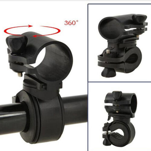 360 Rotation Cycling Bicycle Bike Flashlight LED Torch Bracket Mount Holder   ^p