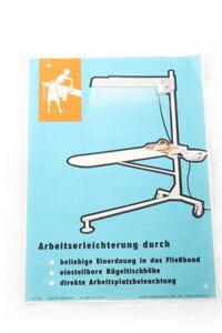 Old Sheet Advertising Handzettel Arbeitserleichterung Ironing Board Information
