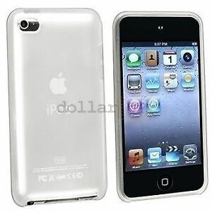 WHITE-iPod-Touch-iTouch-4-4th-Gen-Colorful-Silicone-Rubber-Skin-Gel-Cover-Case