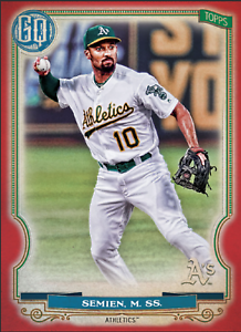 2020 Topps BUNT Marcus Semien Gypsy Queen RED Base ICONIC! [DIGITAL CARD}