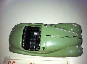 A07-Schuco-BMW-Akustico-Auto-Examico-Karosse-Unfertig-HAUBE-ZU-OFFNEN