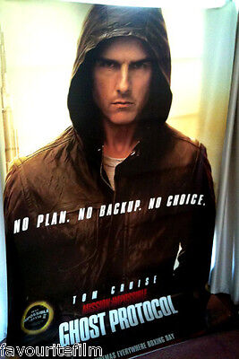 Cinema Banner Mission Impossible Ghost Protocol 2011 Ethan Hunt Tom Cruise Ebay
