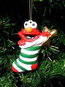 KURT S. ADLER SESAME STREET ELMO CHRISTMAS TREE ORNAMENT ...