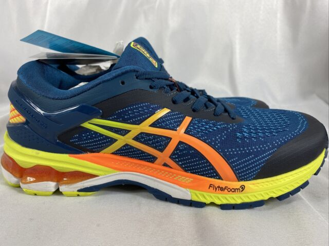 liebre Espinoso Rebelión  ASICS Men's Gel-kayano 26 SP Mako Blue & Yuzu Running Shoe 1011A712400 Sz  10 for sale online | eBay