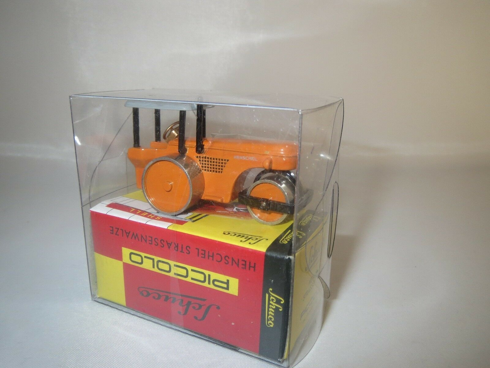 Schuco Piccolo Piccolo Piccolo  05711  Henschel  Strassenwalze  (Orange)  OVP  | Guter Markt  6a08d1