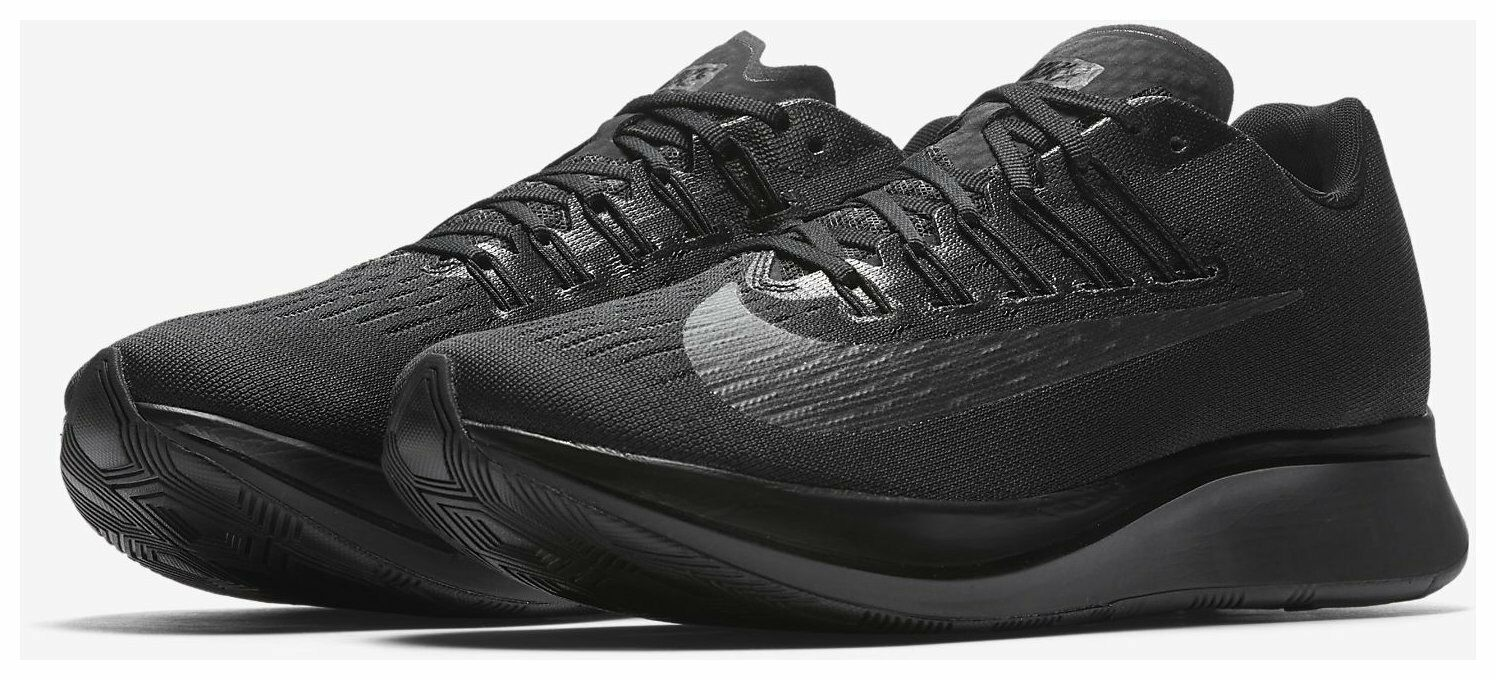 NO BOX Nike ZOOM FLY Men's Running shoes Black Anthracite 880848 003 Retail  150